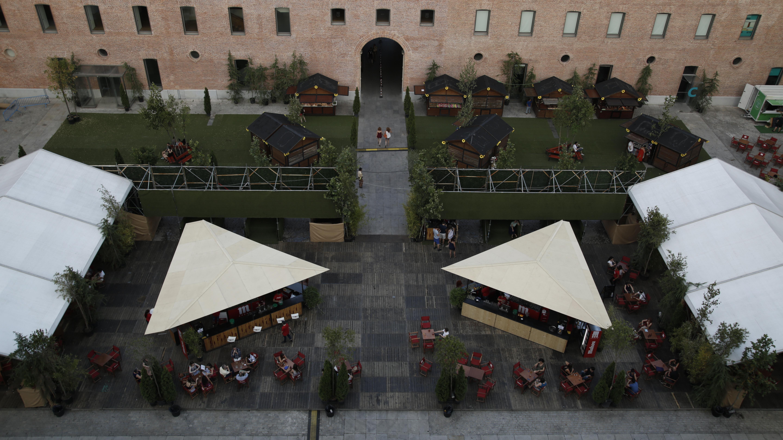 Terraza Cine Garden Conde Duque Conde Duque Madrid