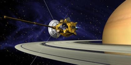 "The ""Grand Finale"" <br> of the Cassini Mission"